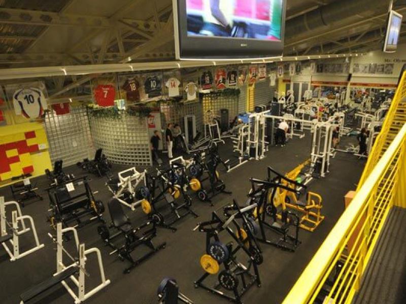 Gold's Gym interier I