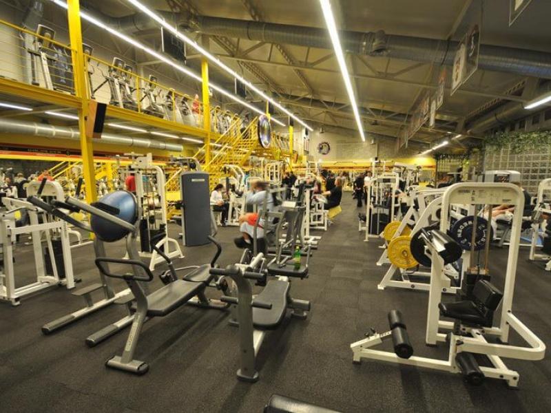 Gold's Gym interier V