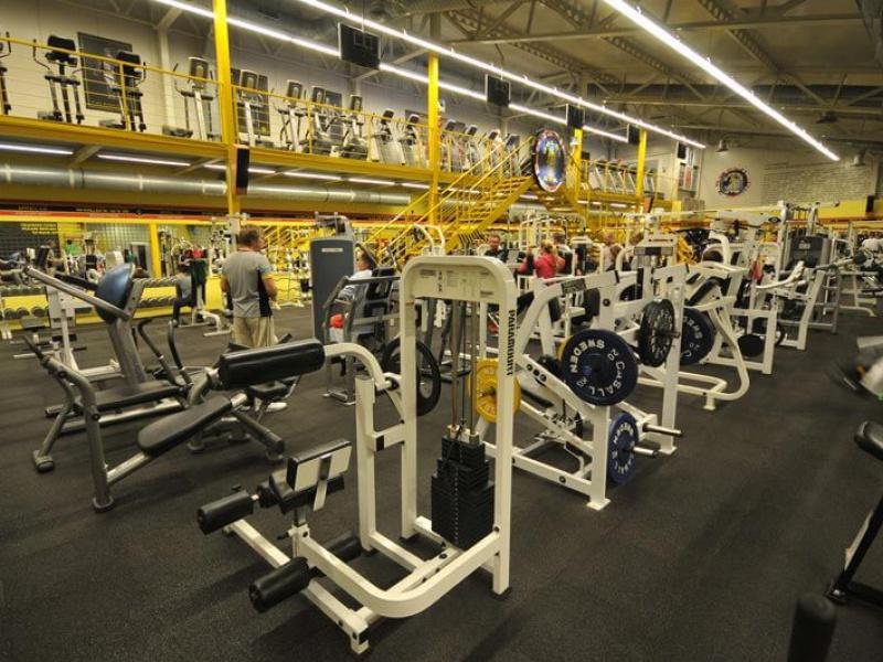 Gold's Gym interier VI