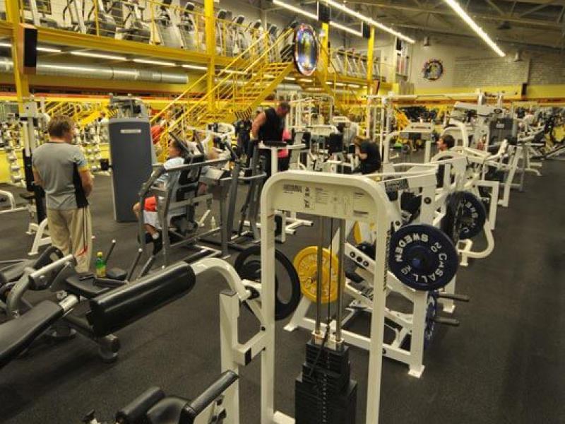 Gold's Gym interier VII