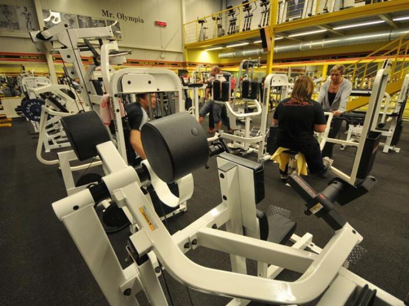Gold's Gym interier VIII
