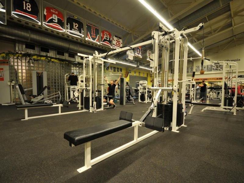 Gold's Gym interier X
