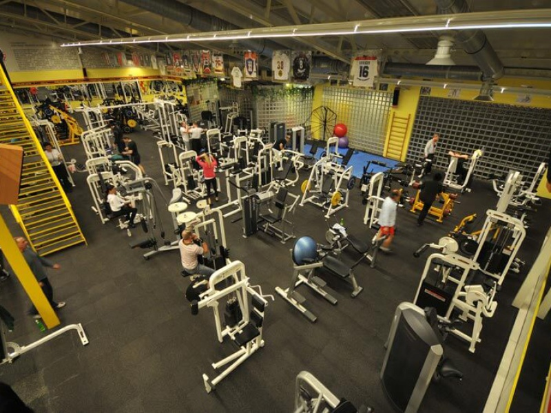 Gold's Gym interier XIII
